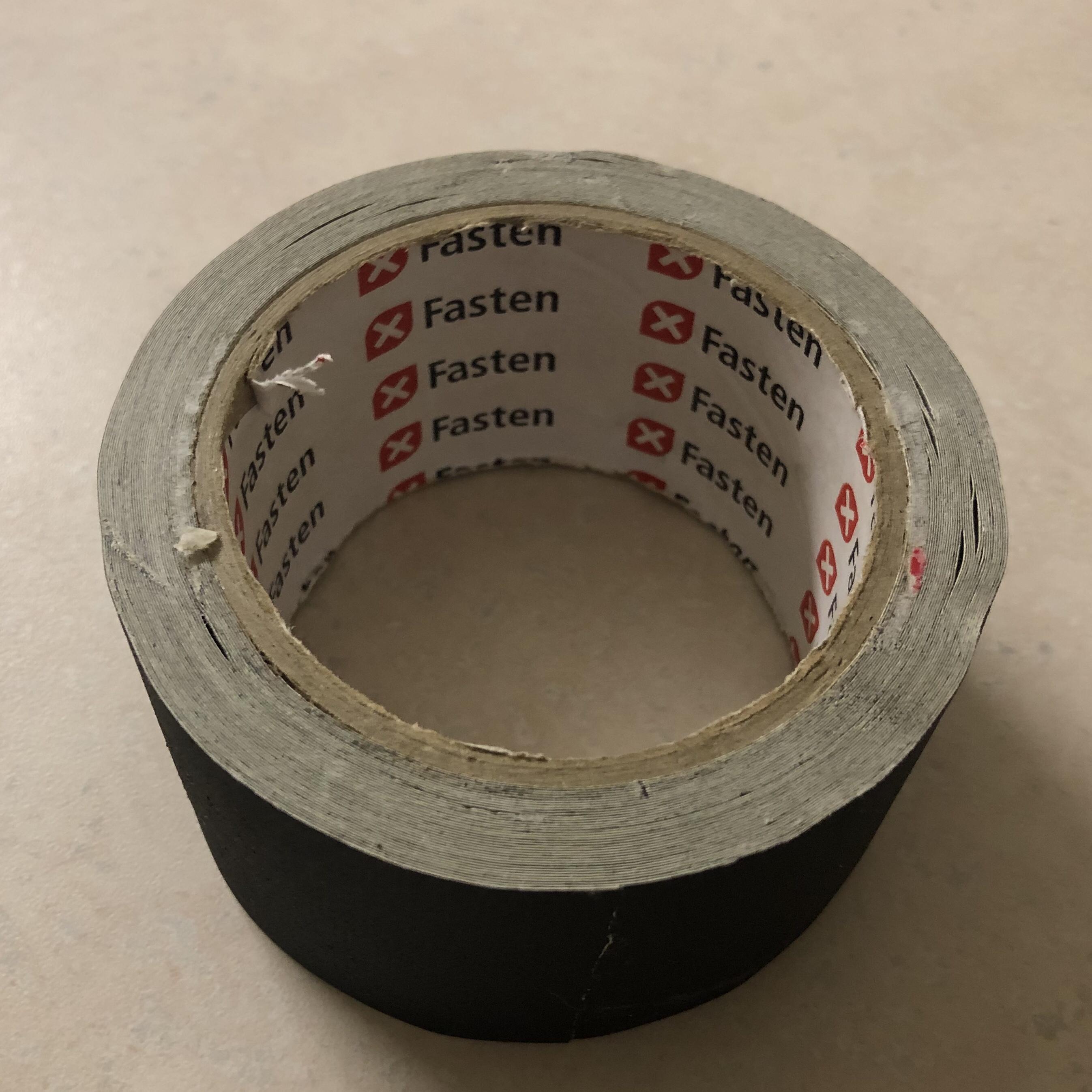 A roll of gaffer tape